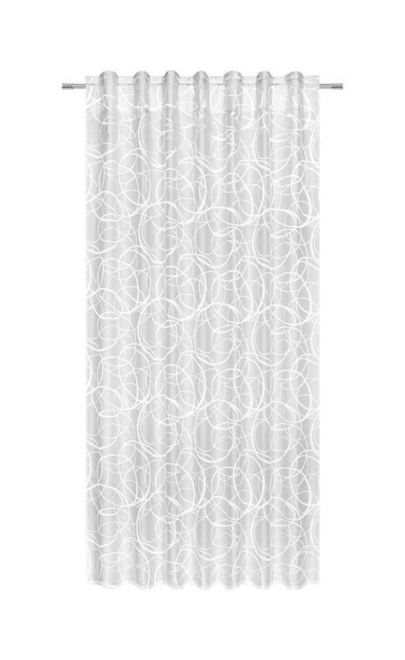 Zavesa Z Zankami Marlene - bela, Konvencionalno, tekstil (140/245cm) - Mömax modern living