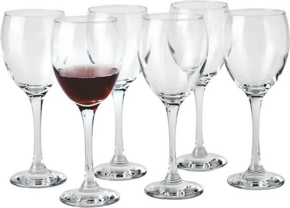 Rotweinglas Sarah ca. 340ml, 6-teilig - Klar, KONVENTIONELL, Glas - Homeware