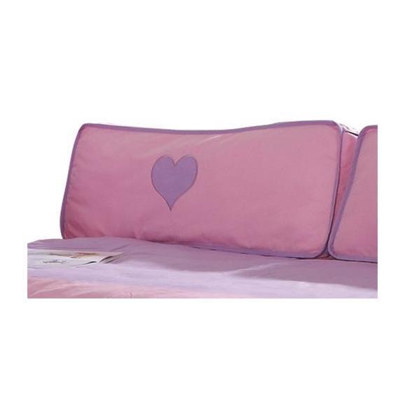 KINDERKISSEN SEITENKISSEN - Flieder/Rosa, Design, Textil (88/11/30cm)