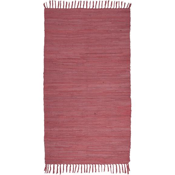 Fleckerlteppich Julia in Beere ca. 60x90cm - Beere, Textil (60/90cm) - Mömax modern living