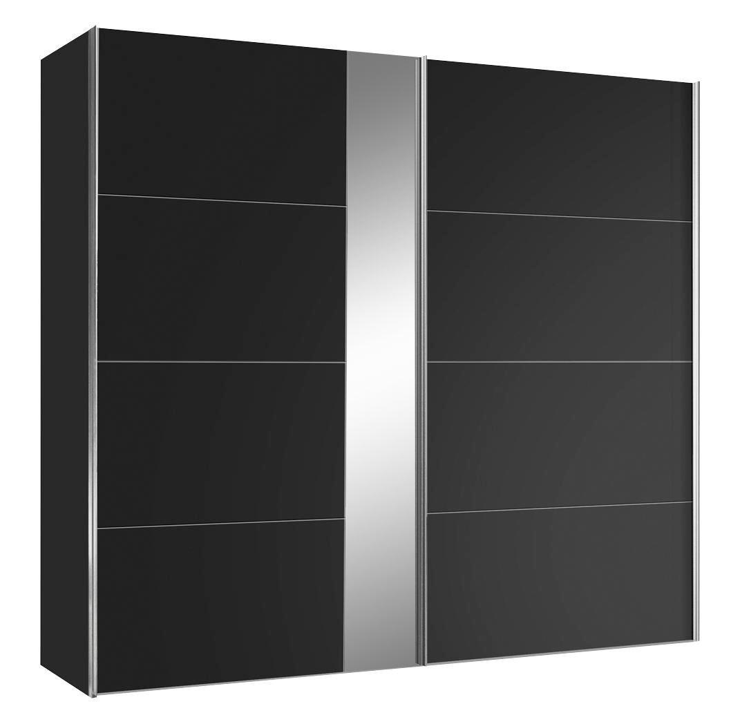 Schwebetürenschrank schwarz  Schwebetürenschrank in Schwarz online kaufen ➤ mömax