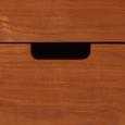 Sideboard in Ulmefarben/ Grau/Weiß 'Jillian' - Ulmefarben/Weiß, MODERN, Holz (120/60/35cm) - Bessagi Home