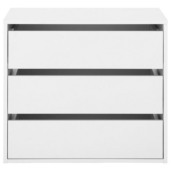 Schubkasteneinsatz in Weiß - Weiß, KONVENTIONELL, Holzwerkstoff (70/61/44cm) - Mömax modern living