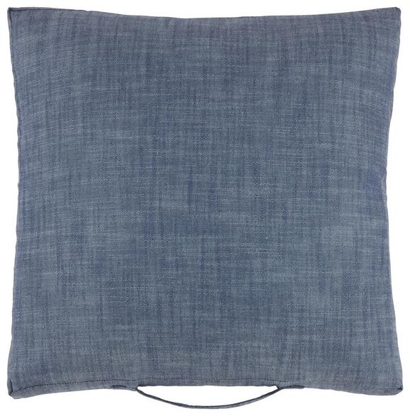 Blazina Urban - modra, Moderno, tekstil (45/45/5cm) - MÖMAX modern living