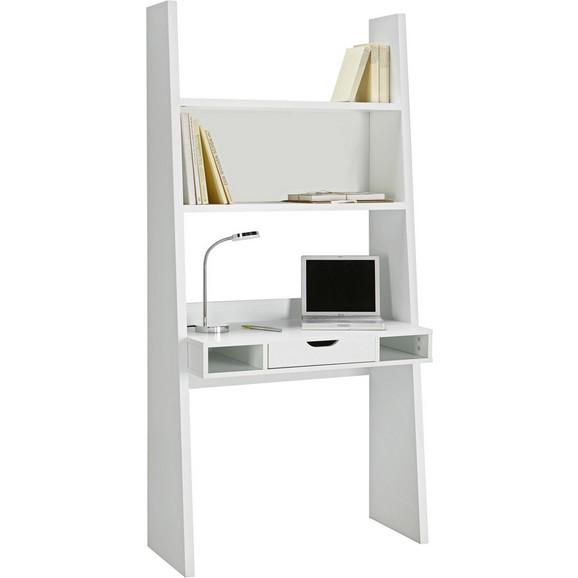 schreibtisch in wei matt online kaufen m max. Black Bedroom Furniture Sets. Home Design Ideas