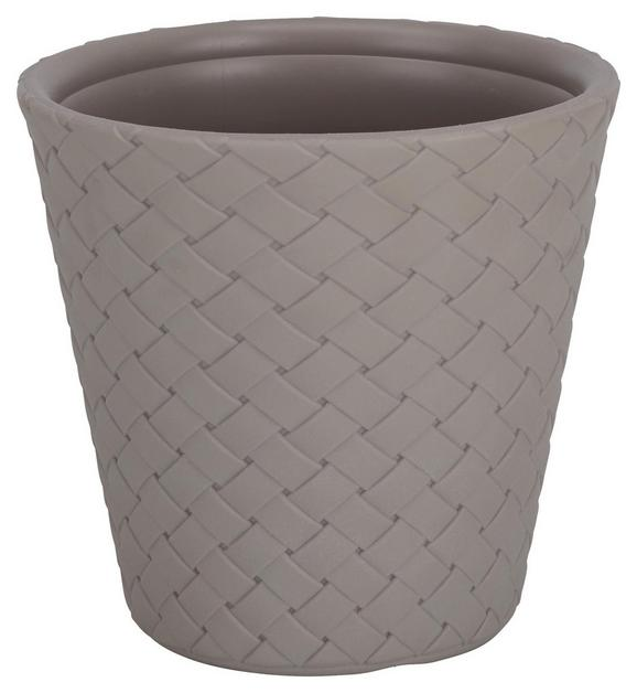 Pflanzentopf Gala in Taupe - Taupe, Kunststoff (30/28cm)