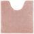 WC-Vorleger Nelly ca. 50x50cm - Rosa, Textil (50/50cm) - Mömax modern living