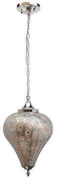 Függőlámpa Orient 1 - ezüst színű, Lifestyle, fém (26/40cm) - MÖMAX modern living