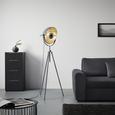 Stoječa Svetilka Blanche -eö- - siva, Trendi, kovina (69/179cm) - Mömax modern living