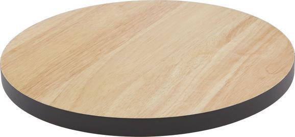 Vágódeszka Sirikit - natúr színek/fekete, Lifestyle, fa (30/1,8cm) - MÖMAX modern living
