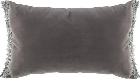 Zierkissen Jasmin, ca. 30x50cm - Grau, LIFESTYLE, Textil (30/50cm) - MÖMAX modern living