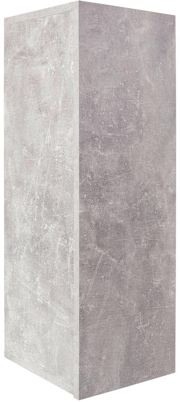 Falipolc Halma Hlr01 - szürke, modern, faanyagok (26,5/75/28cm)