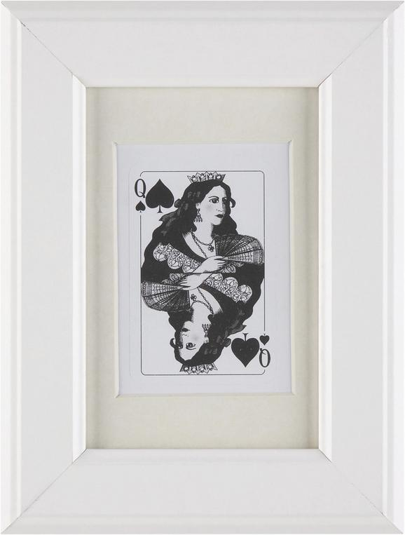 Képkeret Provence - Fehér, romantikus/Landhaus, Üveg/Fa (10/15cm) - Mömax modern living