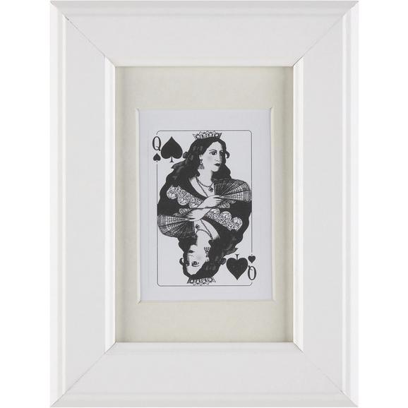 Képkeret Provence - Fehér, romantikus/Landhaus, Üveg/Fa (10/15/2cm) - Mömax modern living