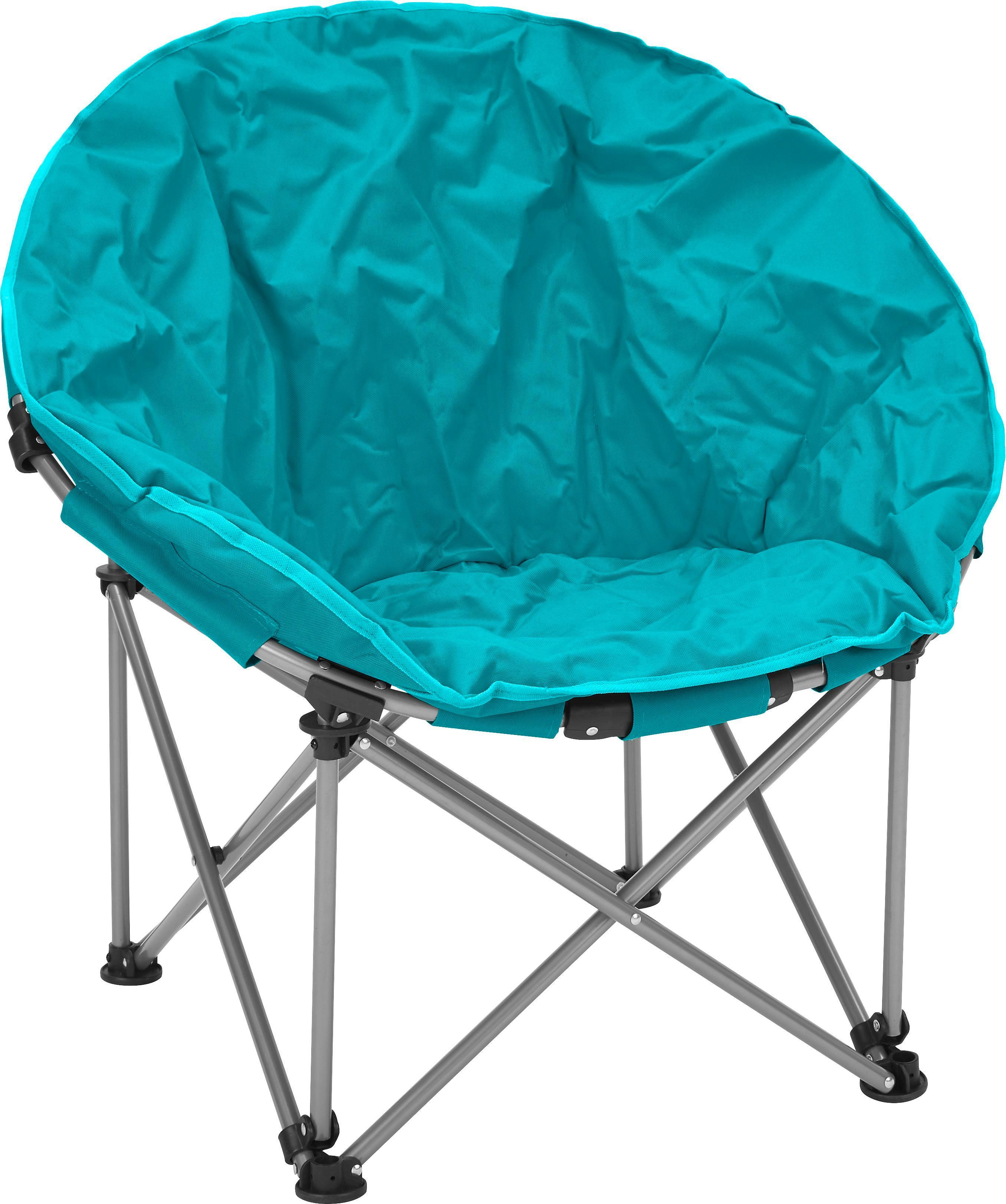 Campingsessel Lyon in Blau - Blau/Anthrazit, Kunststoff/Textil (80/75/40cm) - MÖMAX modern living