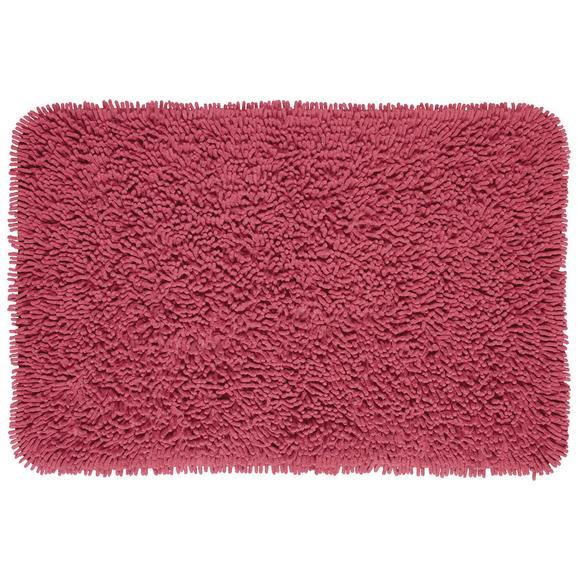Covor Pentru Baie Jenny - roșu, textil (60/90cm) - Modern Living