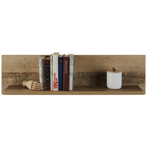 Wandboard in Eichefarben Old Style - Eichefarben, KONVENTIONELL, Holzwerkstoff (95/26/18cm) - Modern Living