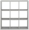 Raumteiler Schneeeiche - Eichefarben, MODERN, Holzwerkstoff/Kunststoff (107/107/33cm) - Mömax modern living