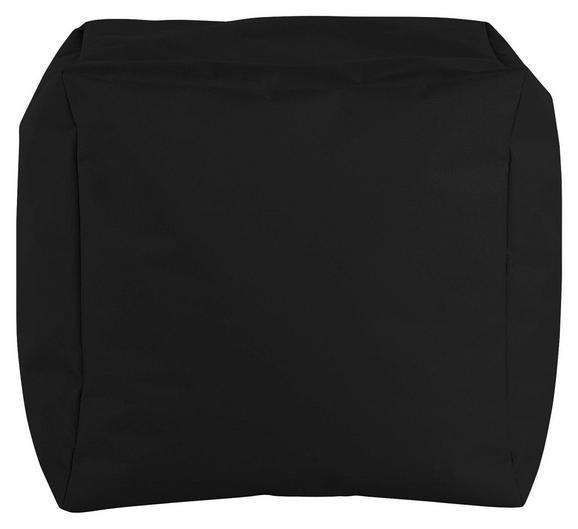 Tabure Cube S-sb- - črna, Moderno, tekstil (40/40/40cm) - Mömax modern living