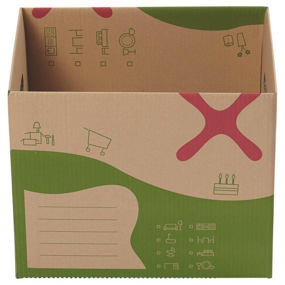 umzugskarton dave ca 45x34x37cm online kaufen m max. Black Bedroom Furniture Sets. Home Design Ideas
