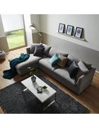 Wohnlandschaft Aurelia - Grau, MODERN, Holz/Kunststoff (168/284cm) - Mömax modern living