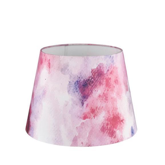 Abajur Pentru Lămpi Clouds In Rose - roz, Romantik / Landhaus, textil (20/15,6cm) - Modern Living