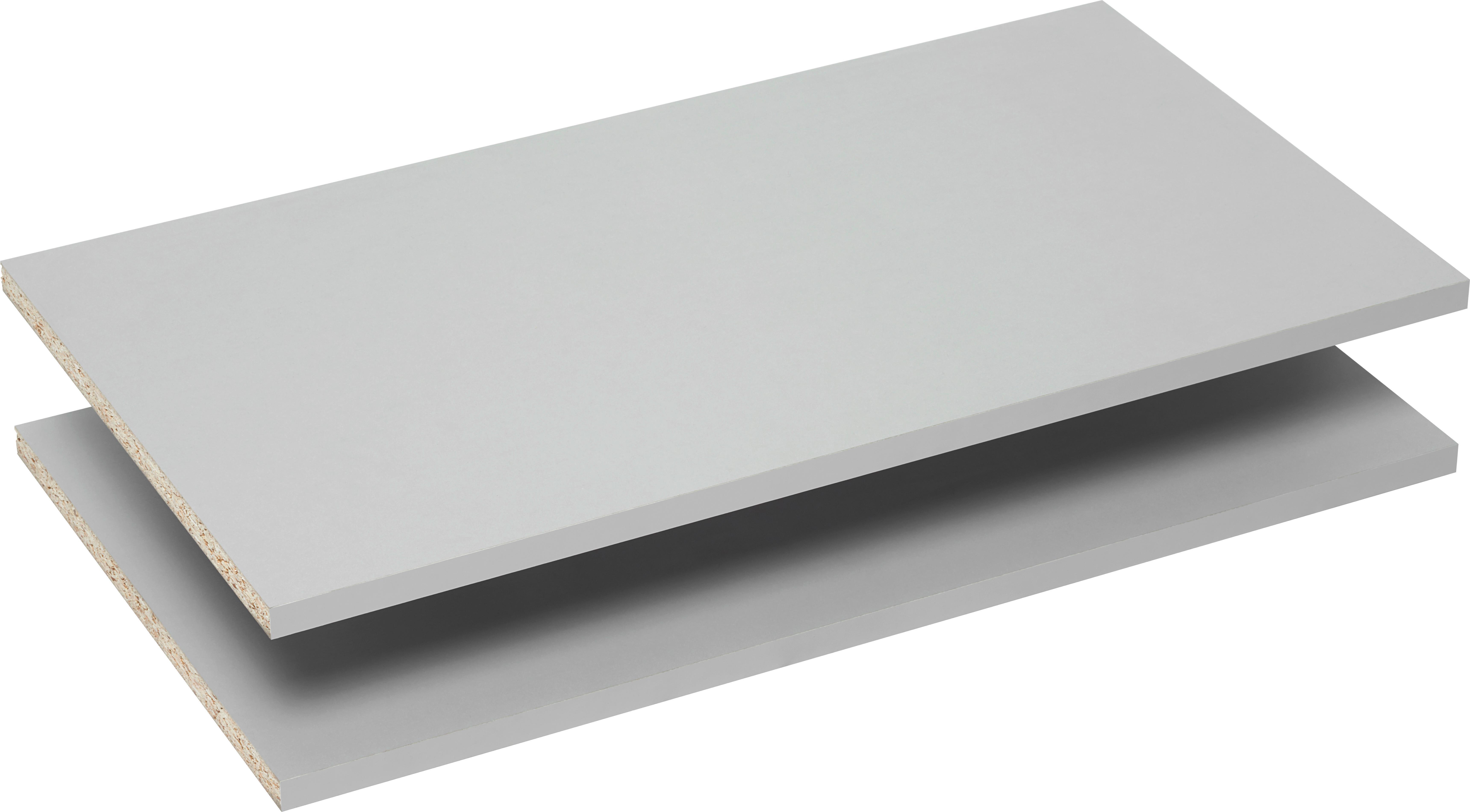 Einlegebodenset in Grau 2er Set