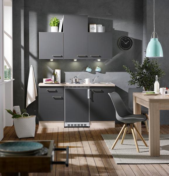 Küchenblock Milano Anthrazit Eiche Online Kaufen Mömax