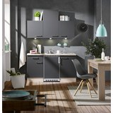 Kuhinjski Blok Milano - hrast/antracit, Moderno, leseni material (150cm)