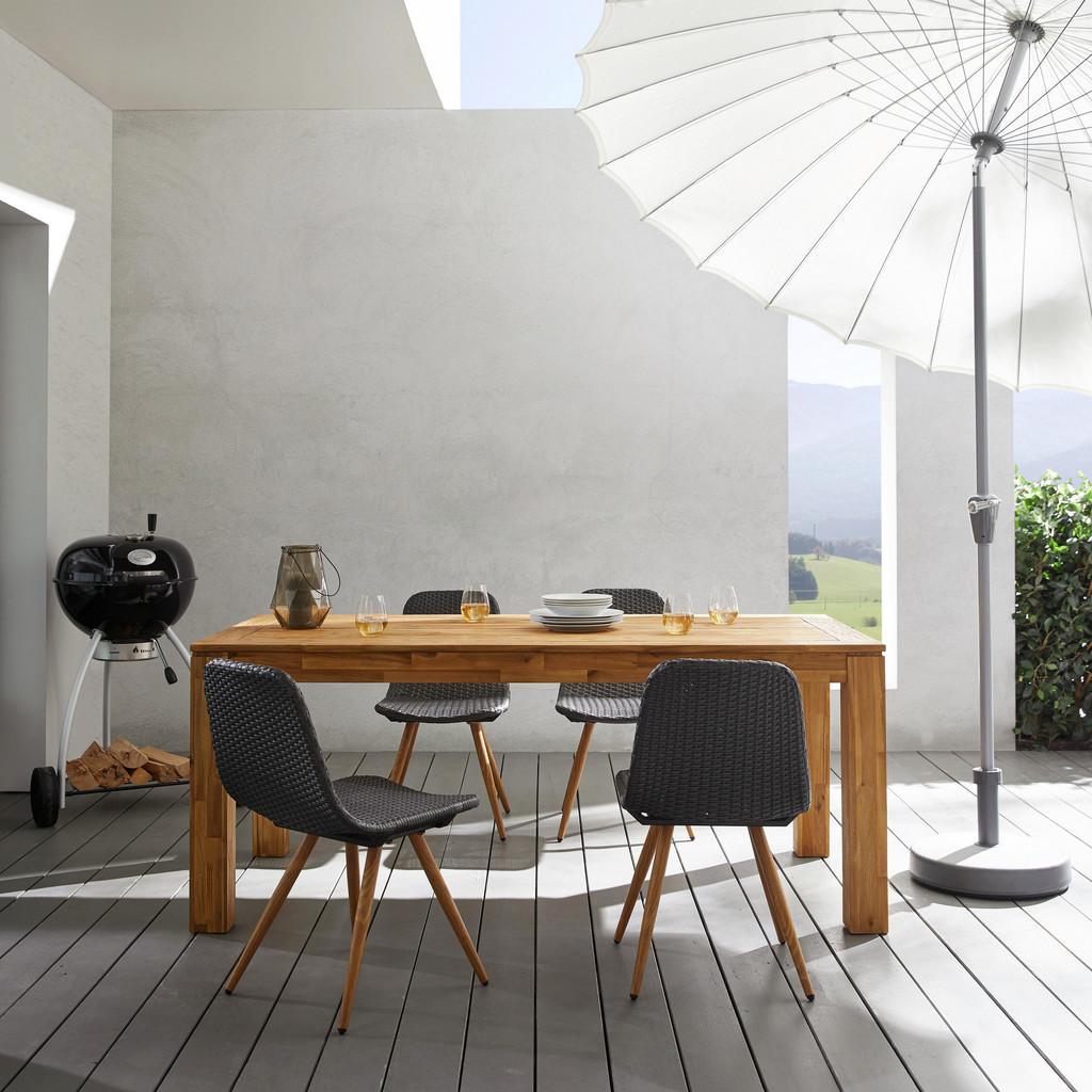 Gartentisch Henry 180x90cm aus Akazienholz