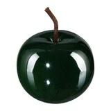 Dekoapfel Provence I Dunkelgrün - Dunkelgrün, Basics, Keramik (8/6,5cm)