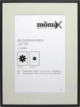 Rahmen Gitta, ca. 60x80cm in Schwarz - Schwarz, MODERN, Glas/Holz (60/80cm) - Mömax modern living