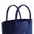 Tasche Luca ca.38x34cm - Blau, MODERN, Textil (38/17/34cm) - Mömax modern living