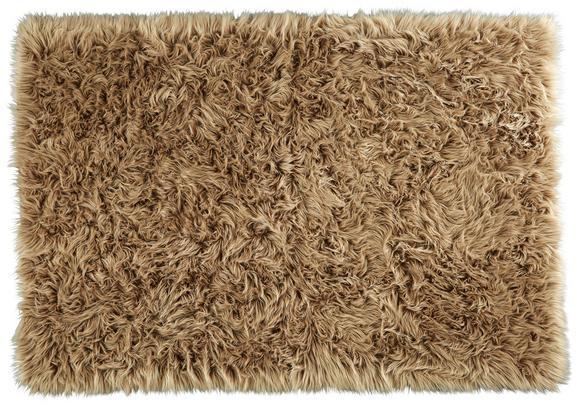 Schaffell Teddy Beige 100x150cm - Beige, Textil (100/150cm) - Mömax modern living