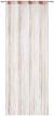 Fadenstore String Rosa/Weiß - Rosa/Weiß, Textil (90/245/cm) - Premium Living