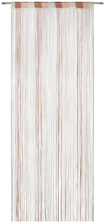 Nitasta Zavesa String - roza/bela, tekstil (90/245/cm) - Premium Living
