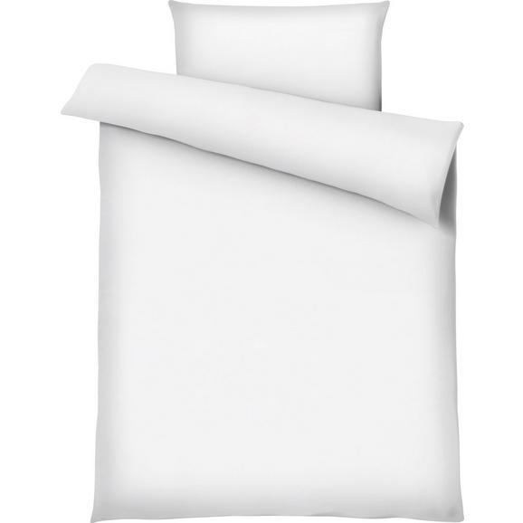 Posteljnina Marion - bela, tekstil (140/200cm) - Premium Living