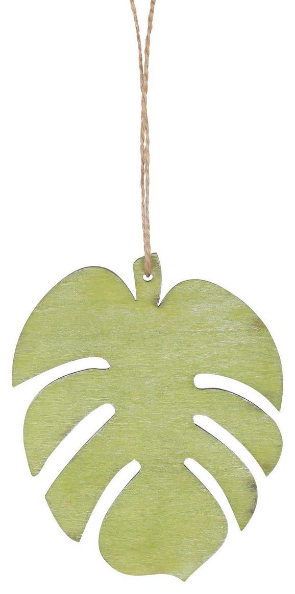 Dekorativni Obesek Oliver - zelena, Romantika, les (10cm)