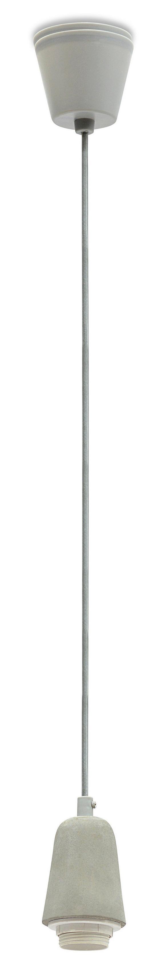 Schnurpendel Ston, max. 1x60 Watt - Kunststoff/Stein (6,7/120cm) - Mömax modern living