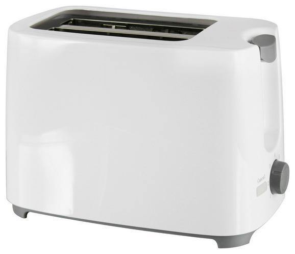 Toaster Gerd Weiß 820watt - Weiß, Kunststoff (27/12,6/15,5cm)