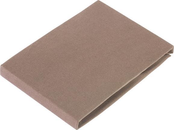 Spannbetttuch Elasthan Topper 100x200cm - Naturfarben, Textil (100/200/15cm) - PREMIUM LIVING