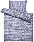 Posteljnina Nadine - modra/meta zelena, tekstil (140/200cm) - Based