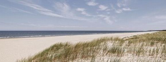 Glasbild The Beach, ca. 30x80x2cm - Multicolor, MODERN, Glas (30/80/2cm) - Mömax modern living