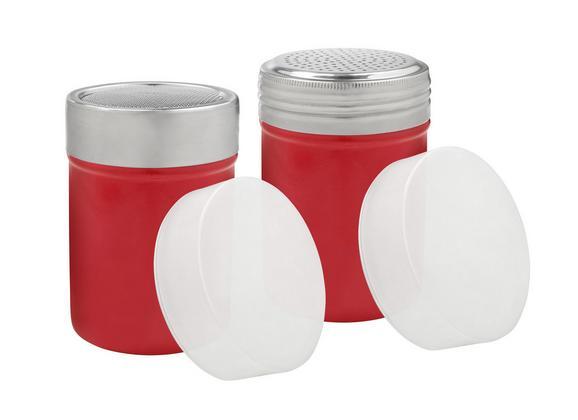 zuckerstreuer Dani in Rot - Rot, Kunststoff/Metall (7/9,5cm) - Mömax modern living