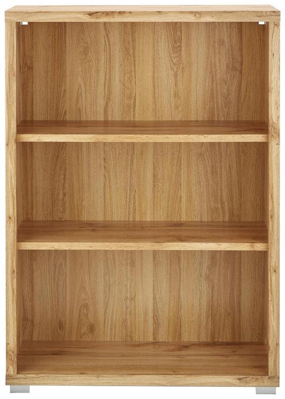 Regal Eichefarben - Eichefarben/Weiß, MODERN, Holzwerkstoff (80/112/36cm) - Mömax modern living