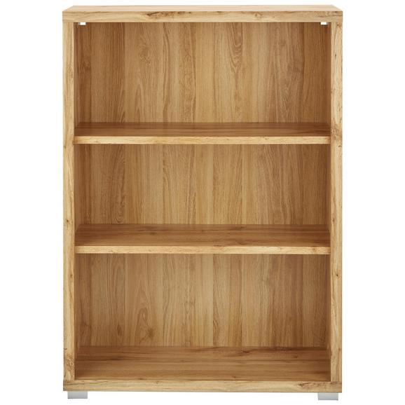 Regal in Eichefarben - Eichefarben/Weiß, MODERN, Holzwerkstoff (80/112/36cm) - Mömax modern living