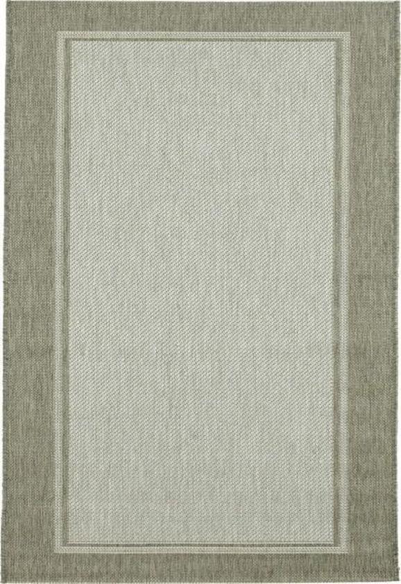 Ravno Tkana Preproga Naomi 2 - siva/bež, Konvencionalno, tekstil (100/150/cm) - Based