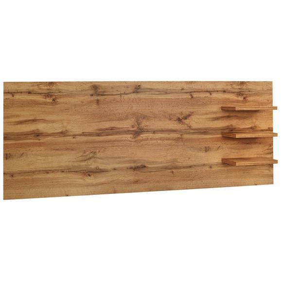 Tv-stojalo Kashmir New - hrast, Moderno, leseni material (185/70/18cm) - Zandiara
