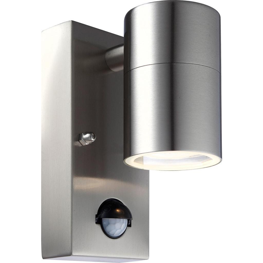 LED-Außenwandleuchte max. 5 Wa tt mit Bewegungsmelder 'Style'