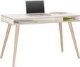 Schreibtisch Weiß Holz - Eichefarben/Weiß, MODERN, Holz/Holzwerkstoff (120/75/60cm) - Modern Living
